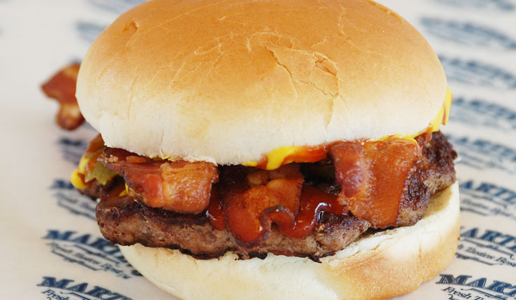 bacon-burger